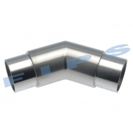 Coude à 45°/135° en inox 316 poli miroir