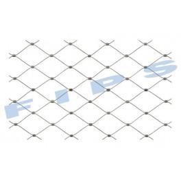 Filet en inox 316 tressé en câble souple (7x7) de diamètre 1,5 mm - rouleau de 25 mètres - recoupable en longueur