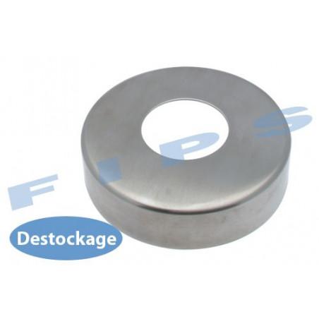 Destockage - Cache platine ronde en inox 304 poli miroir