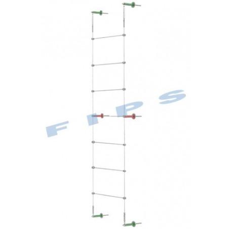 Kit support plantes grimpantes hauteur 4 mètres