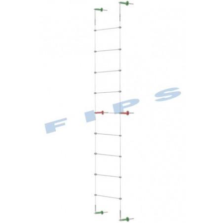 Kit support plantes grimpantes hauteur 5 mètres