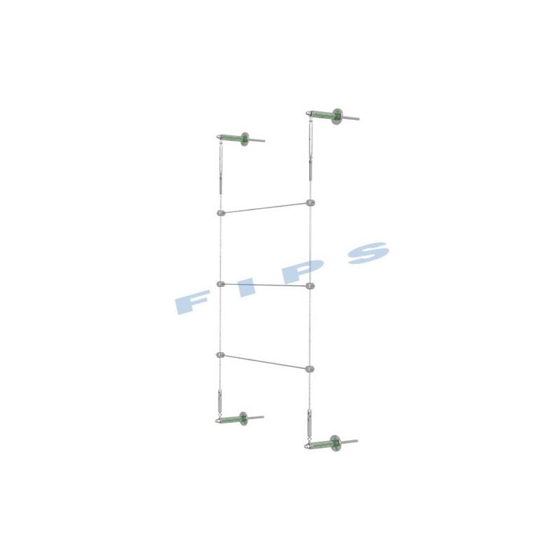 Kit support plantes grimpantes hauteur 1 mètre